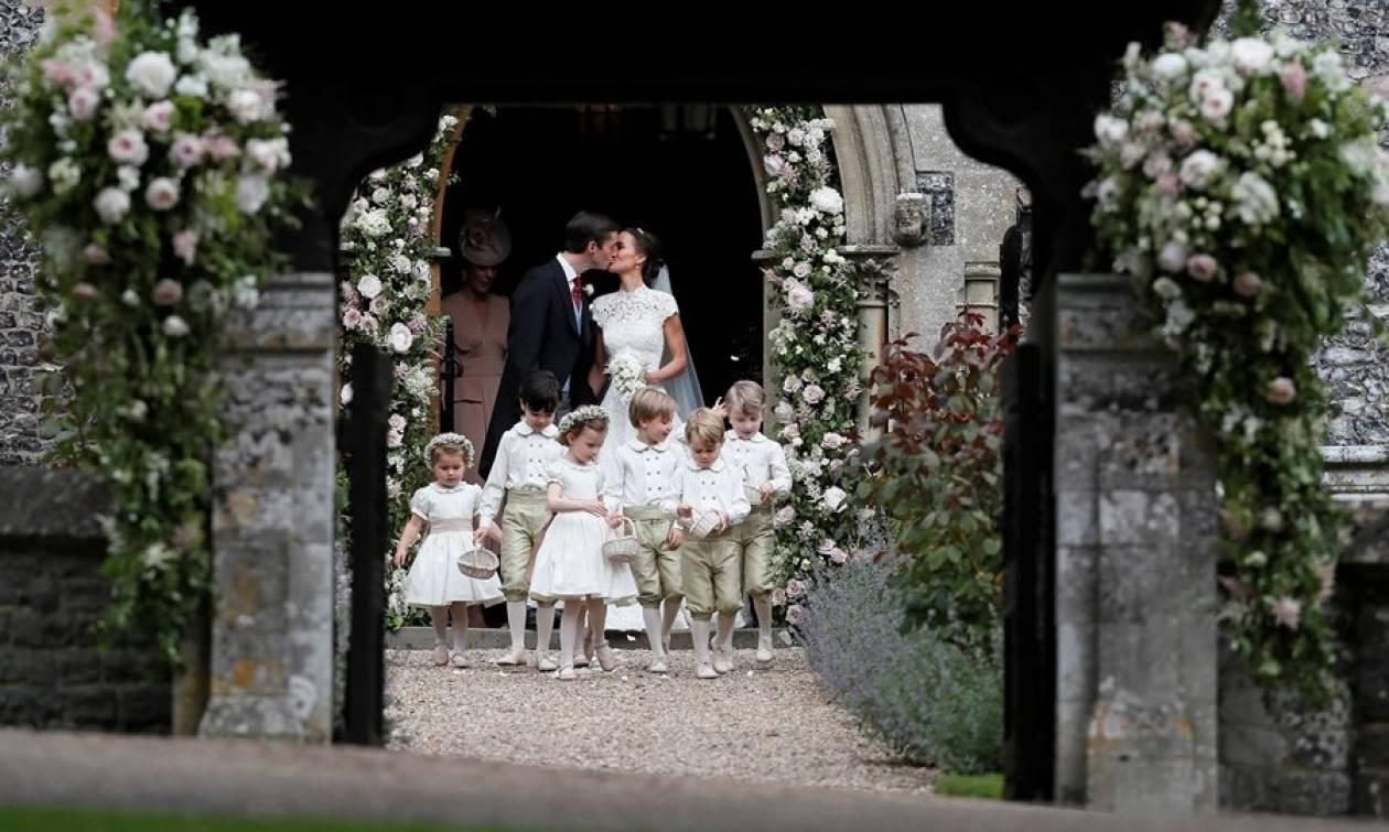 Αληθινό παραμύθι: Καρέ-καρέ ο γάμος της Πίπα Μίντλετον με τον εκλεκτό της καρδιάς της!
