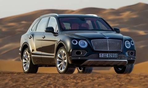 H Bentley Bentayga Falconry διαθέτει ειδική θέση για... γεράκι!