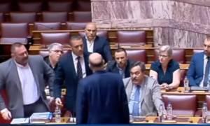 Βουλή: Τι είπε ο φρούραρχος για την επίθεση Κασιδιάρη εναντίον του Δένδια