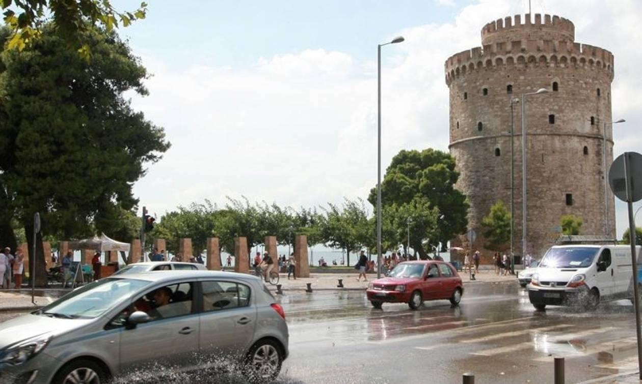 Θεσσαλονίκη: Προβλήματα από τη βροχόπτωση