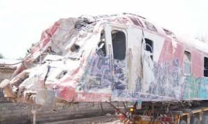 Επίλογος στη σιδηροδρομική τραγωδία: Ανασύρθηκε η μοιραία μηχανή (pics+vid)