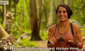 Survivor: Τρελή και παλαβή για τον Βασάλο η Σαμπριγιέ: «Τον ερωτεύτηκα...» (Video)