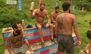 Survivor: Έξαλλος ο Σπαλιάρας! Έσπασε μπουκάλι  από τα νεύρα του και τα έβαλε με τον Αναγνωστόπουλο