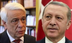 Κρίσιμη συνάντηση Παυλόπουλου - Ερντογάν: Σε τεντωμένο σχοινί οι ελληνοτουρκικές σχέσεις