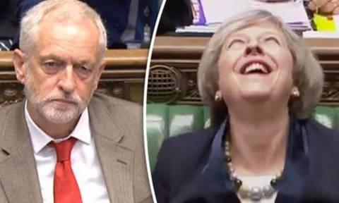 Εκλογές Βρετανία: «Καλπάζει» και αυξάνει τη διαφορά η Τερέζα Μέι έναντι του Τζέρεμι Κόρμπιν