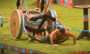 Survivor: Σοκαριστική στιγμή! Τραυματίζεται ο Βασάλος; Εντρομοι οι συμπαίκτες του! (Video)