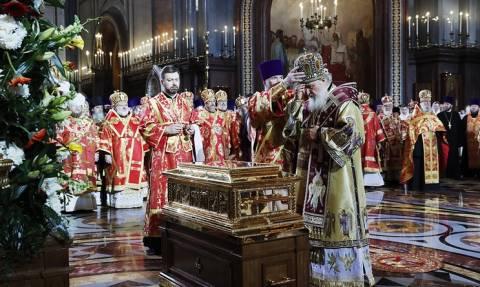 Историческое событие: мощи Николая Чудотворца принесены из Италии в Россию