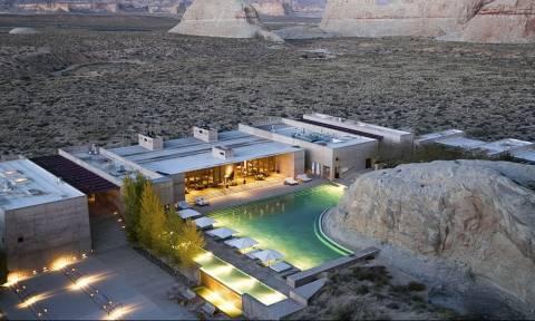 Απίστευτο! Έφτιαξαν παραλία στην Έρημο