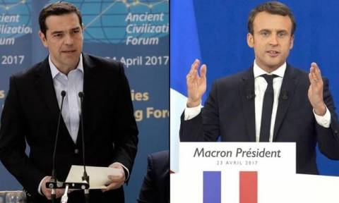 President Macron to PM Tsipras: Agreement on the relief of the Greek debt