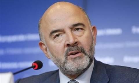 Μοσκοβισί: Η Ελλάδα μείωσε το έλλειμμά της κάτω από το 3% του ΑΕΠ