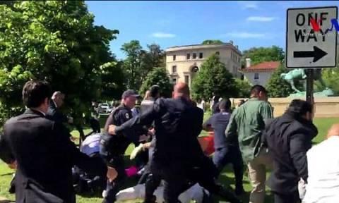 Ζητά και τα ρέστα η Άγκυρα: Διαμαρτυρία στις ΗΠΑ για κακομεταχείριση των μπράβων του Ερντογάν!
