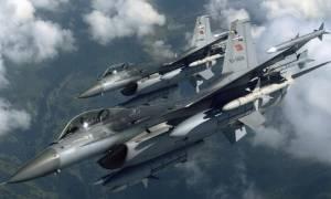 Νέα εικονική αερομαχία ελληνικών - τουρκικών μαχητικών στο Αιγαίο