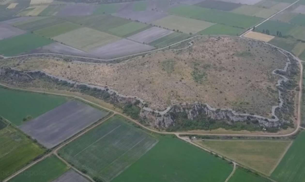Η μεγαλύτερη Μυκηναϊκή Ακρόπολη της Ελλάδας ήταν κάποτε... νησί - Πού βρίσκεται (video)