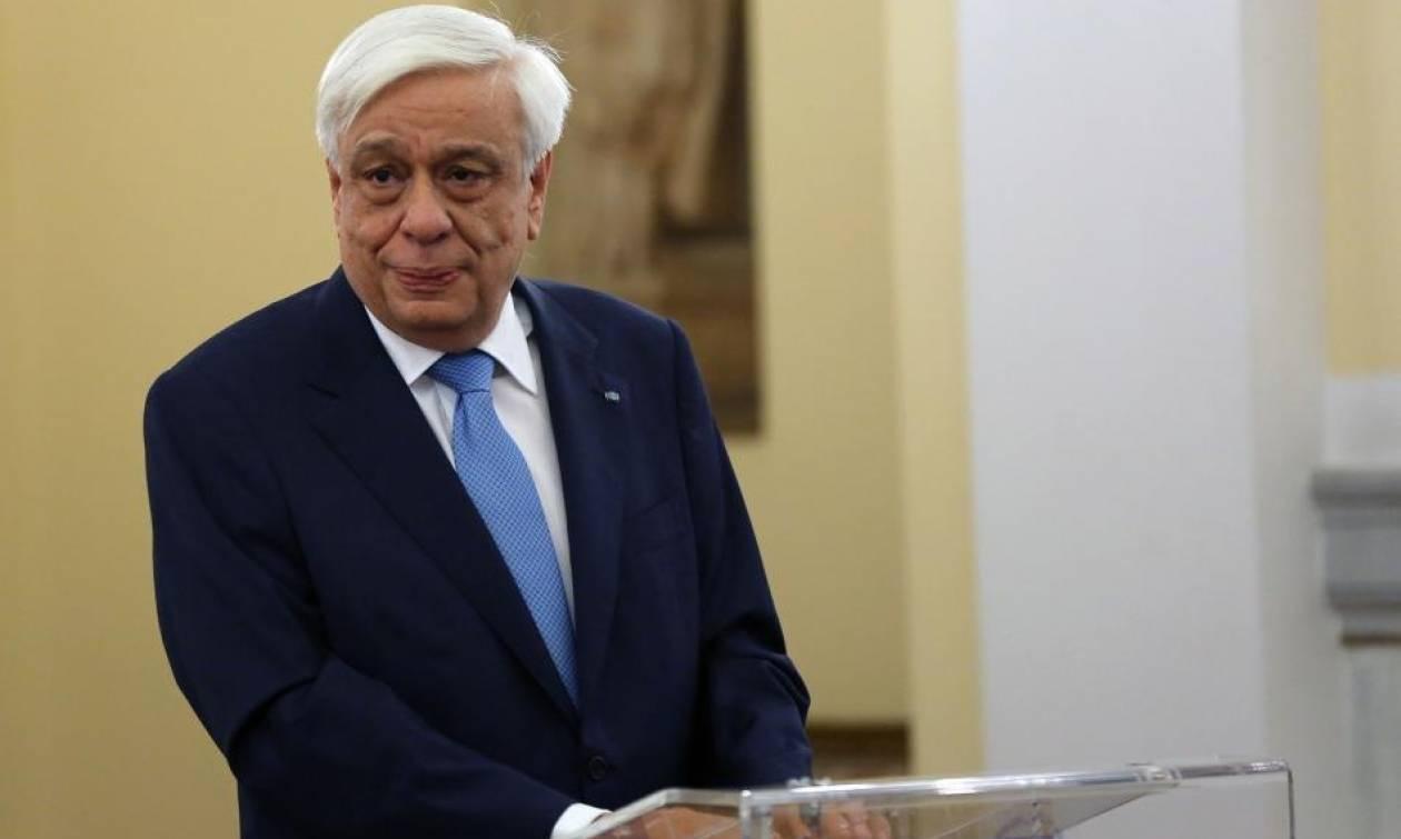 Παυλόπουλος: Η Ελλάδα είναι η πόρτα και το παράθυρο της Τουρκίας προς τη Δύση