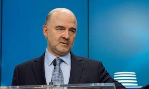 Μοσκοβισί: Πρέπει να υπάρξει συμφωνία - Η Ελλάδα έκανε όσα έπρεπε