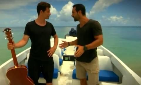 Survivor: Ηρθε η ώρα του Σάκη Ρουβά. Τι είπε στον Σάκη Τανιμανίδη πριν μπει στο Νησί; (video)