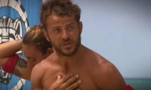 Survivor: Δεν αφήνουν τον Ντάνο να ηρεμήσει: «Μου λες ότι κλέβω;» (Video)