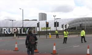 Έκρηξη Manchester: Δείτε LIVE εικόνα από το σημείο της τρομοκρατικής επίθεσης