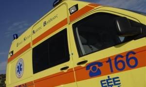 Διακομιδή βρέφους σε νοσοκομείο μετά από πτώση από ύψος