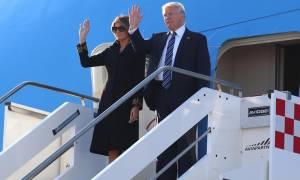 Ιταλία: Η Ρώμη υποδέχτηκε τον Ντόναλντ Τραμπ