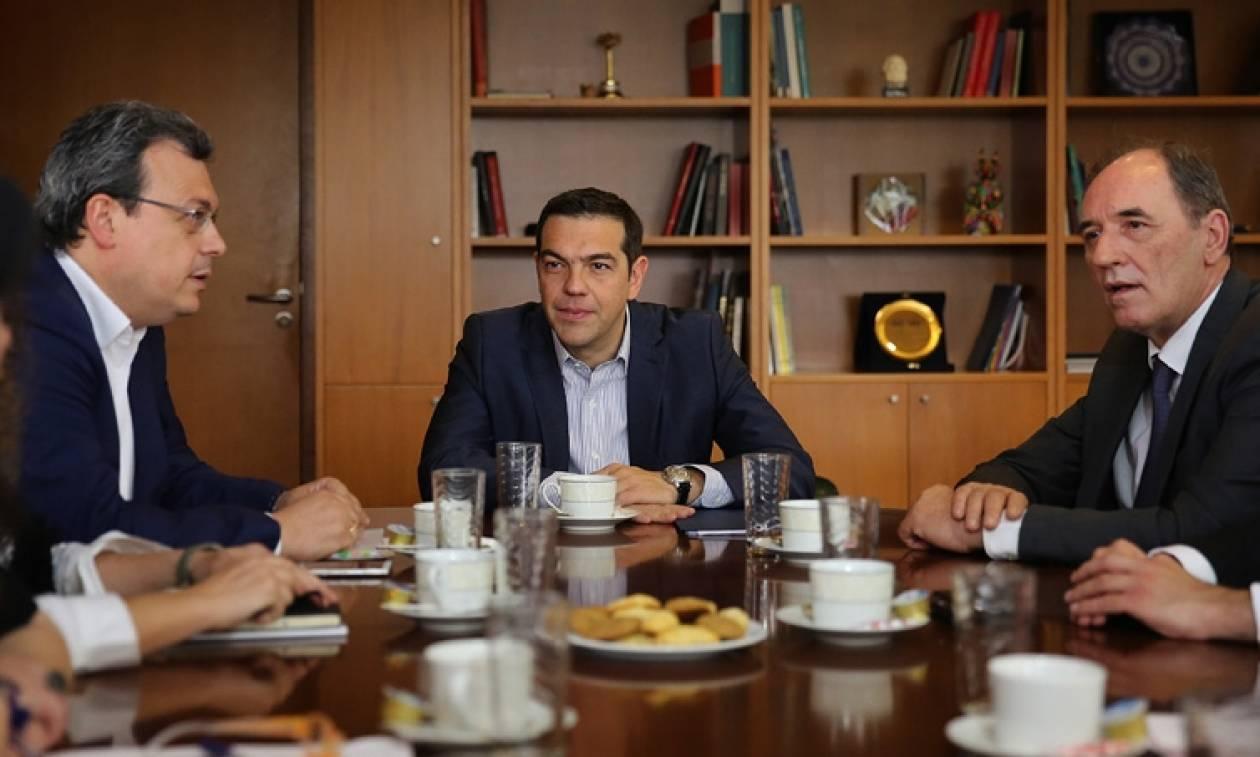 Στο υπουργείο Περιβάλλοντος ο Τσίπρας: «Η ενέργεια πυλώνας της αναπτυξιακής πολιτικής της χώρας»