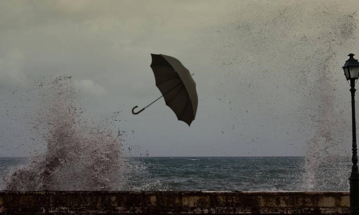 Καιρός τώρα - Προσοχή: Καταιγίδες και χαλάζι θα σαρώσουν τη χώρα – Πού θα «χτυπήσουν» τα φαινόμενα