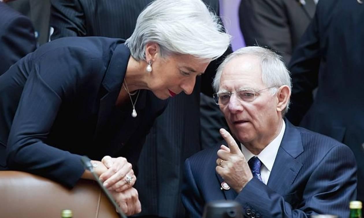Επιμένει ο Σόιμπλε σε δέσμευση του ΔΝΤ