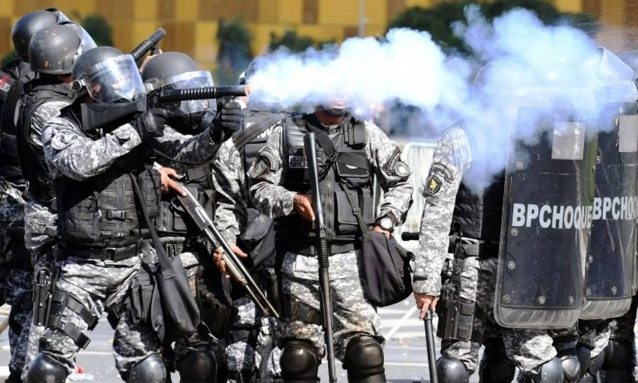 Βραζιλία: Βγήκε ο στρατός στην πρωτεύουσα