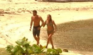 Survivor: Η ατάκα του Βασάλου για το παθιάρικο φιλί που έκανε την Ευριδίκη να δαγκωθεί (video)