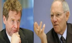 Eurogroup: Έτσι τορπίλισαν τη συνεδρίαση Τόμσεν - Σόιμπλε