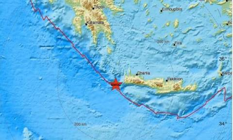 На Крите произошло землетрясение 3,6 балла