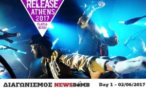 Διαγωνισμός Newsbomb.gr: Κερδίστε προσκλήσεις για το Release Athens 2017 - Day 1