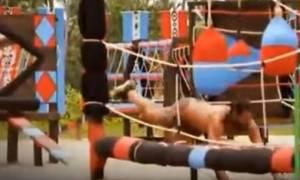 Survivor: Η πτώση του Σπαλ και οι φόβοι για τραυματισμό του στο επεισόδιο της Κυριακής (video)