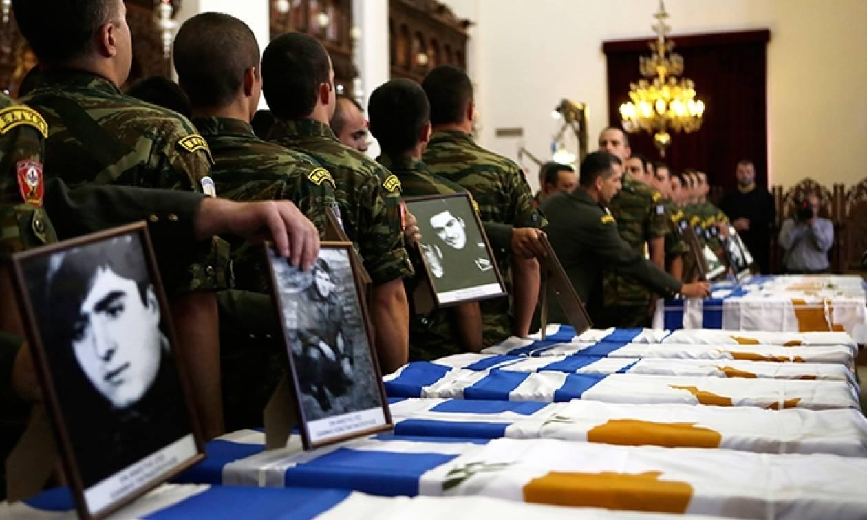 Τιμή και Δόξα στους ήρωες της ΕΛΔΥΚ: Παραδόθηκαν τα λείψανα 17 Πεσόντων