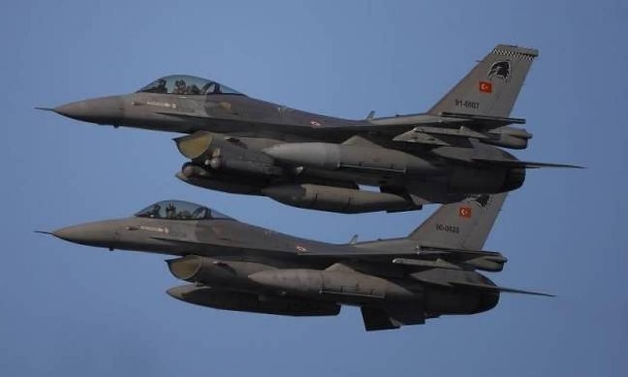 Συναγερμός στο Αιγαίο: Νέες παραβιάσεις οπλισμένων τουρκικών μαχητικών