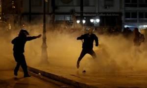 Νέα βραδιά επεισοδίων στο κέντρο της Αθήνας