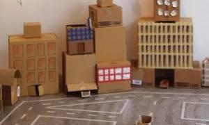 Χάρτινη Πόλη: Μια πόλη φτιαγμένη από τα παιδιά, για τα παιδιά!