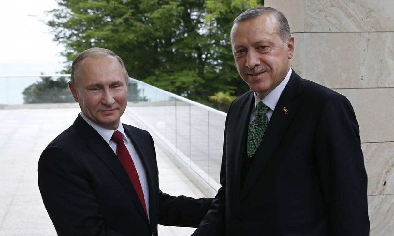 Μίλησαν τηλεφωνικά Πούτιν και Ερντογάν: Σε πρώτο πλάνο τα ενεργειακά