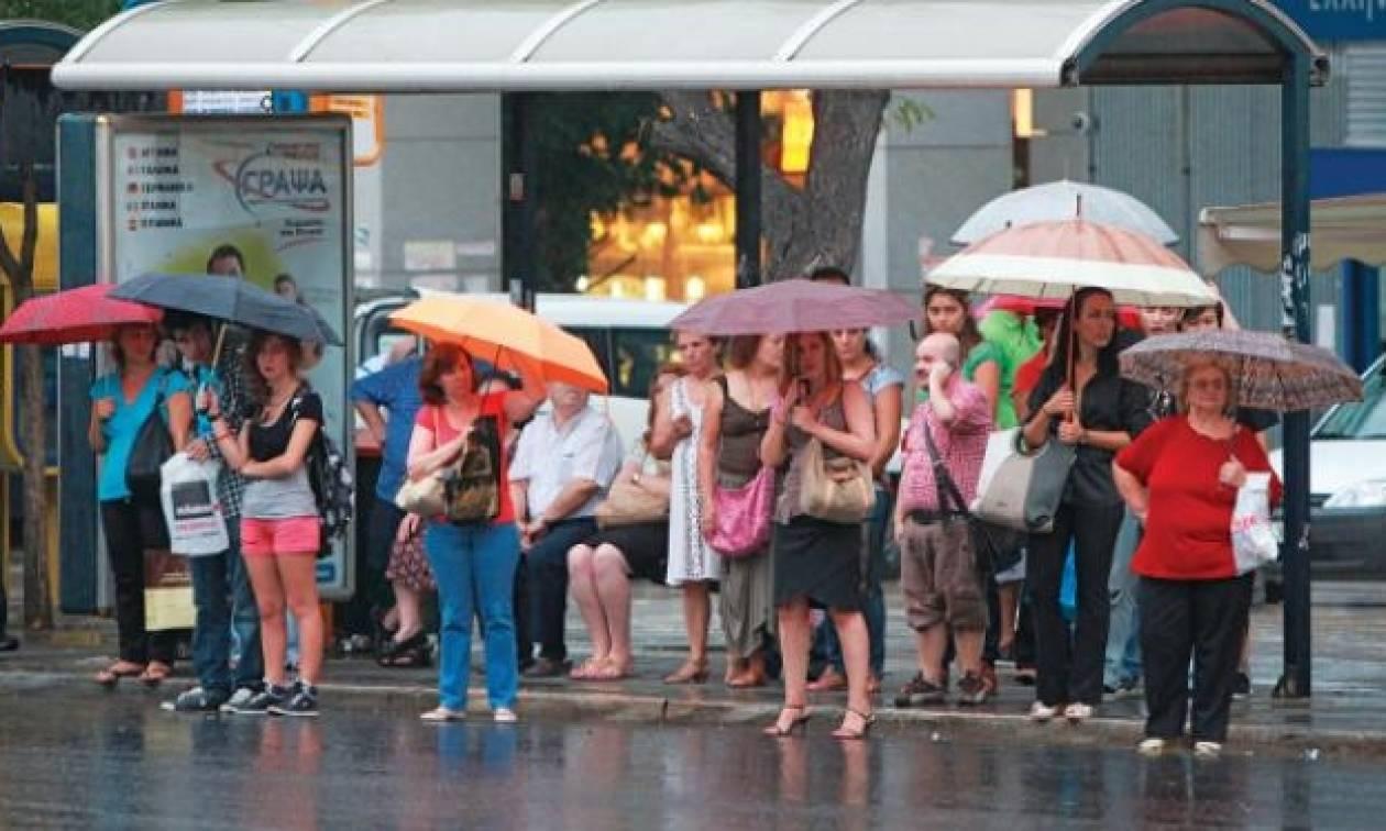 Καιρός EMY: Ισχυρές βροχές και καταιγίδες σήμερα – Πού θα σημειωθούν τα καιρικά φαινόμενα