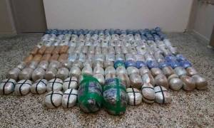 Κοζάνη: Συνελήφθησαν δύο Έλληνες που μετέφεραν 163 κιλά κάνναβης (pics)