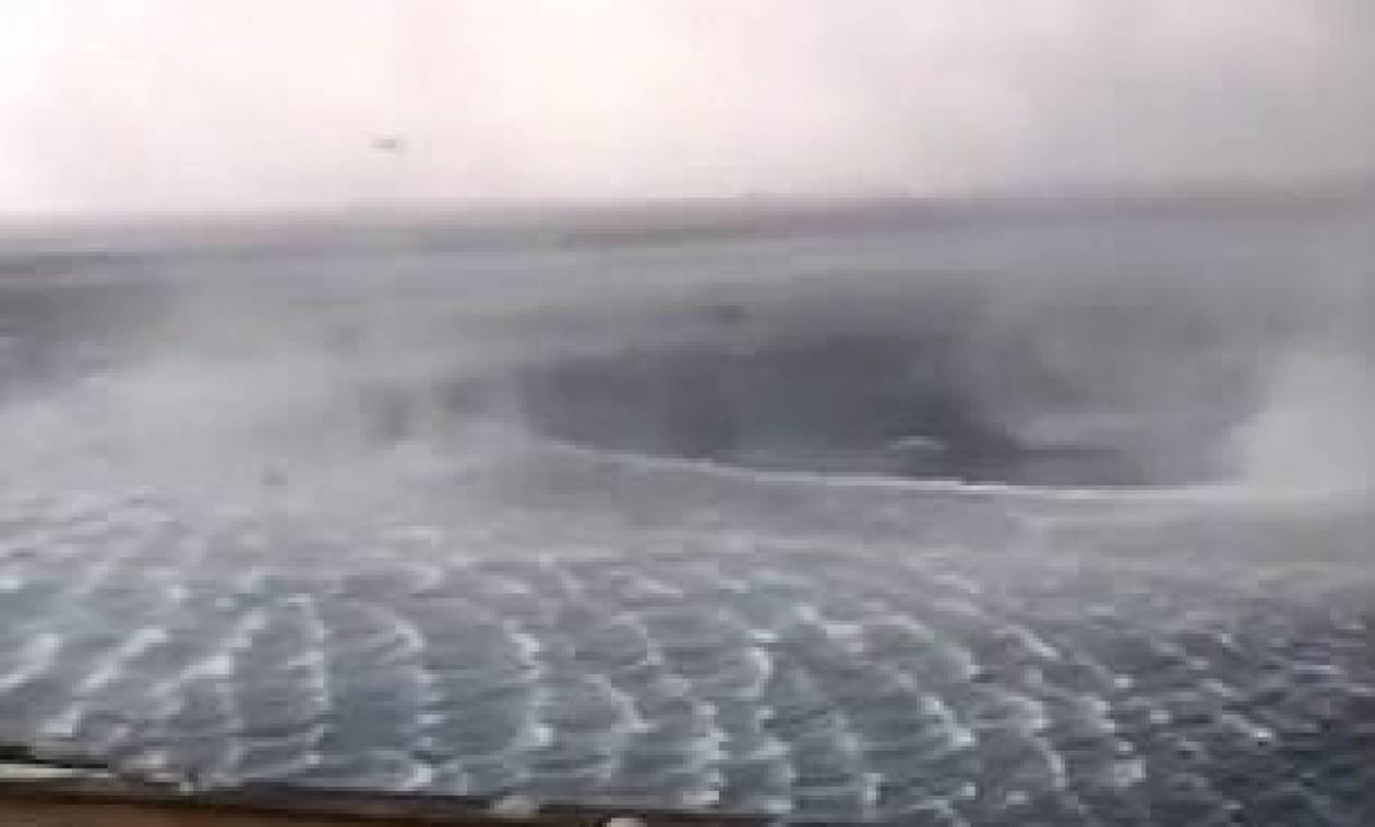 Απίθανο βίντεο: Ρουφήχτρα 30 μέτρων στην Κέρκυρα!