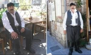 Ρέθυμνο: Ο «γίγαντας» Βαγγέλης Κουνδουράκης είναι η λατρεμένη μασκότ της πόλης! (Pics)