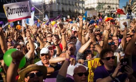 Τεράστια διαδήλωση στην Ισπανία ενάντια στις «άθλιες συνθήκες εργασίας» και τους χαμηλούς μισθούς