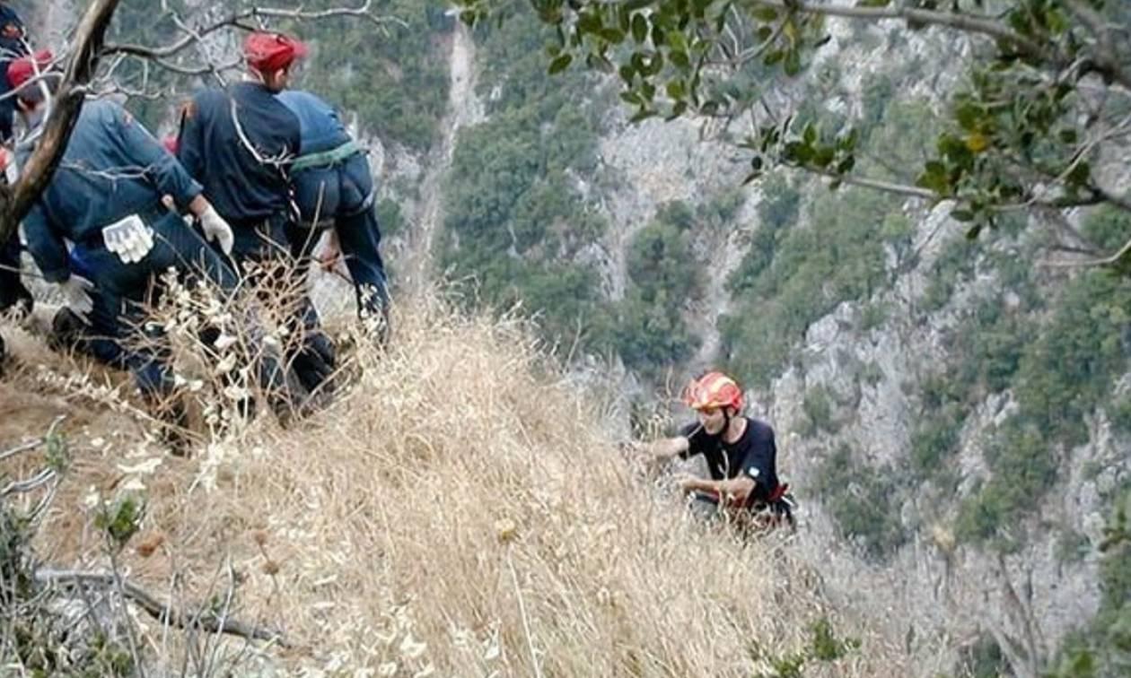 Τραγωδία στην Κρήτη: Βρέθηκε νεκρή η γυναίκα που είχε πέσει σε γκρεμό στα Χανιά