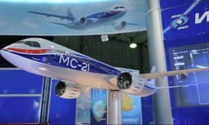 Ρωσία: Πραγματοποιήθηκε η πρώτη πτήση του επιβατικού αεροσκάφους μεσαίας ακτίνας δράσης