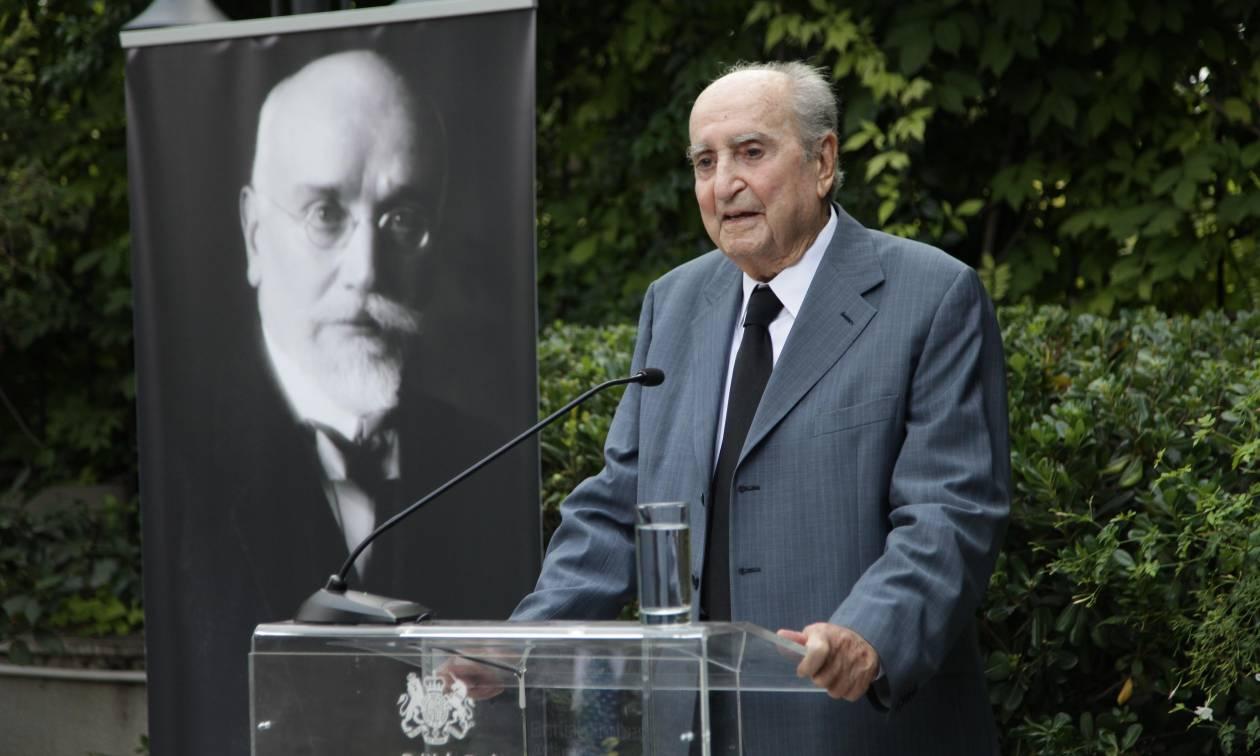 Κωνσταντίνος Μητσοτάκης: Πέθανε πλήρης ημερών ο πρώην πρωθυπουργός