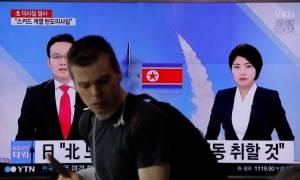 Η Σεούλ αναλύει τα δεδομένα της νέας πυραυλικής δοκιμής που πραγματοποίησε η Βόρεια Κορέα