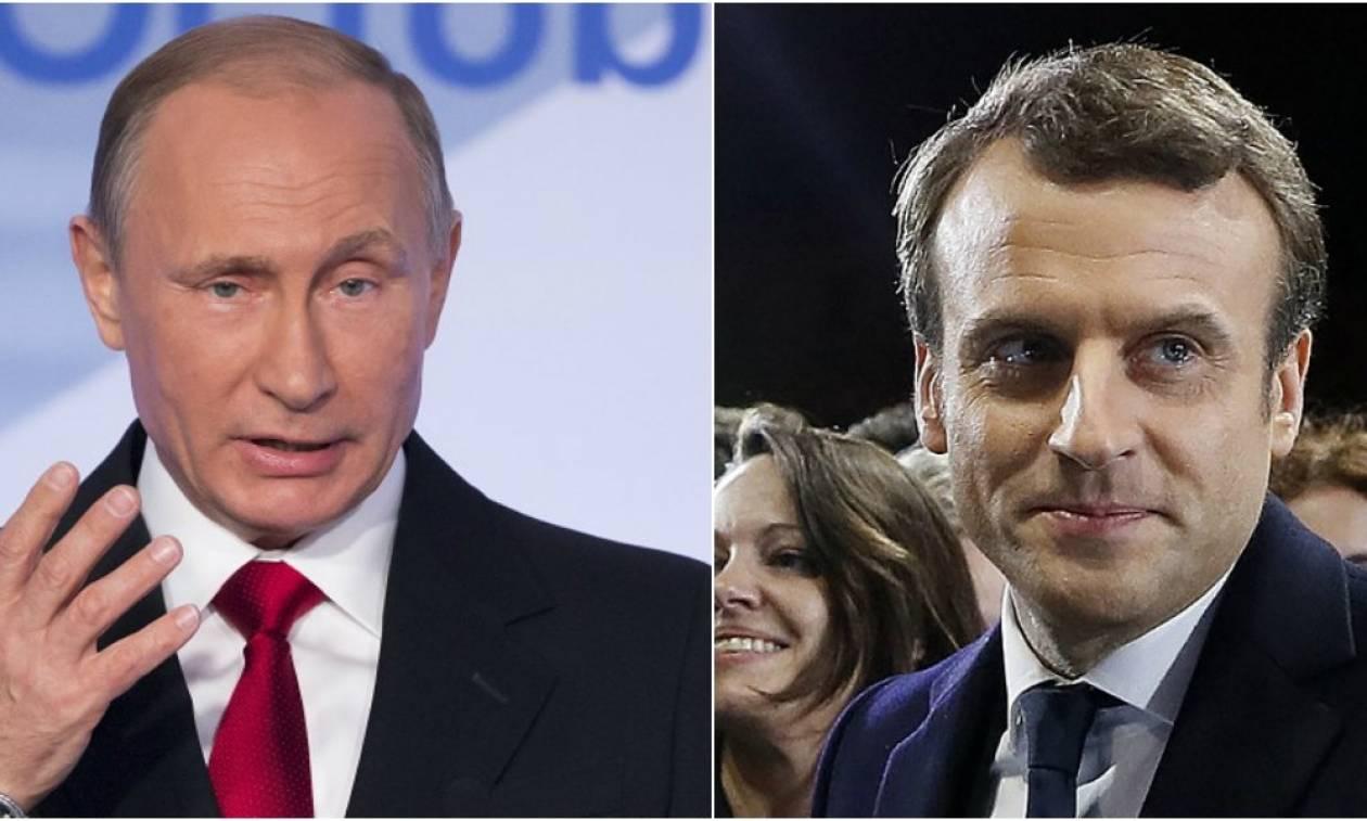 Γαλλία: Ιστορική συνάντηση Μακρόν–Πούτιν σήμερα στις Βερσαλλίες – Τι θα συζητήσουν