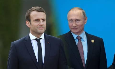 В понедельник Макрон сводит Путина на выставку в Версале