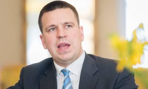 В Афины с визитом прибывает премьер-министр Эстонии